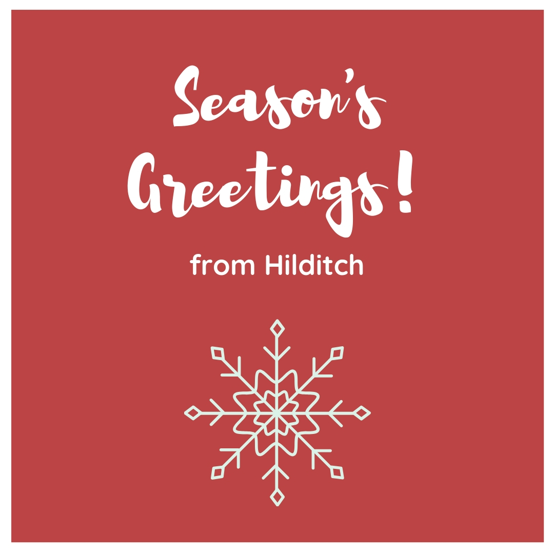season's greeting from hilditch