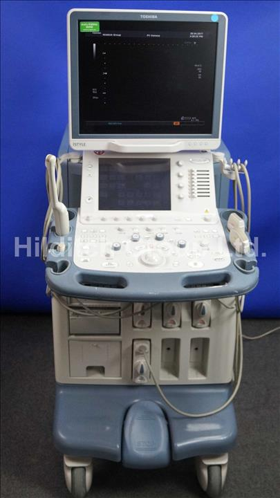 lot details auction sales hilditch group rh hilditchgroup com Toshiba Xario Toshiba Ultrasound Machine