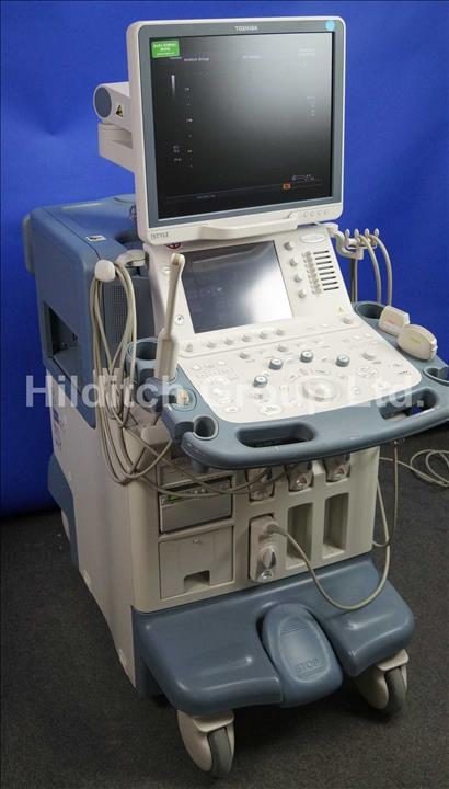 lot details auction sales hilditch group rh hilditchgroup com Toshiba Ultrasound Machine Toshiba America Medical