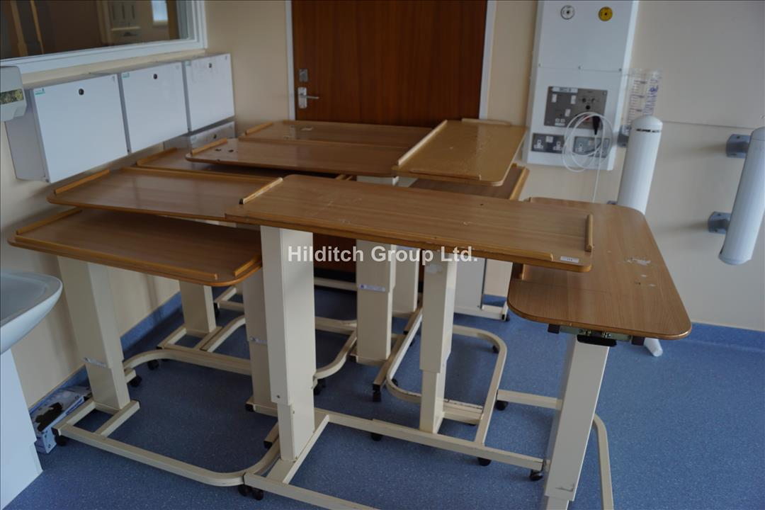 10 x Over Bed Tables, Various Types