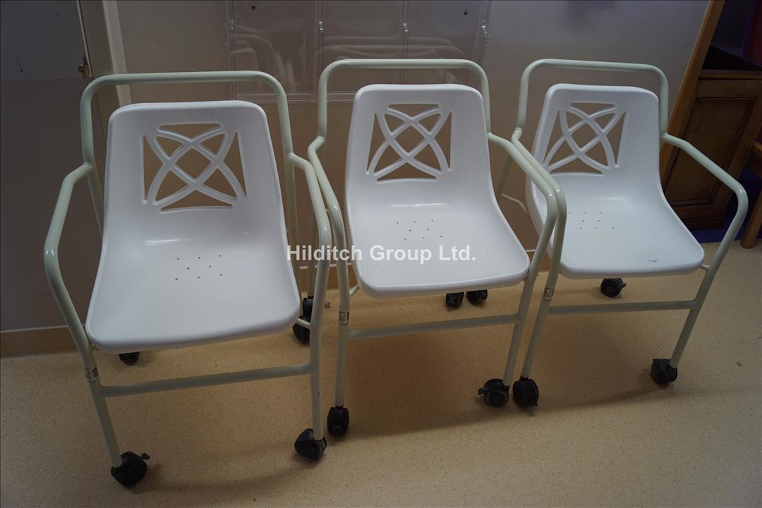 3 x Mobile Shower Chairs