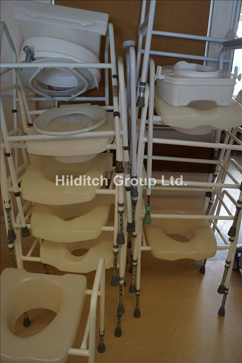 10 x Commode Chairs