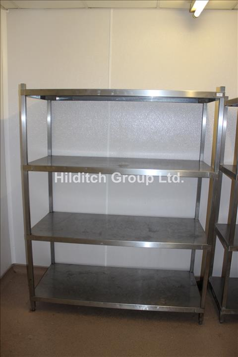 Stainless Steel 4 Tier Rack - 140cm x 60cm