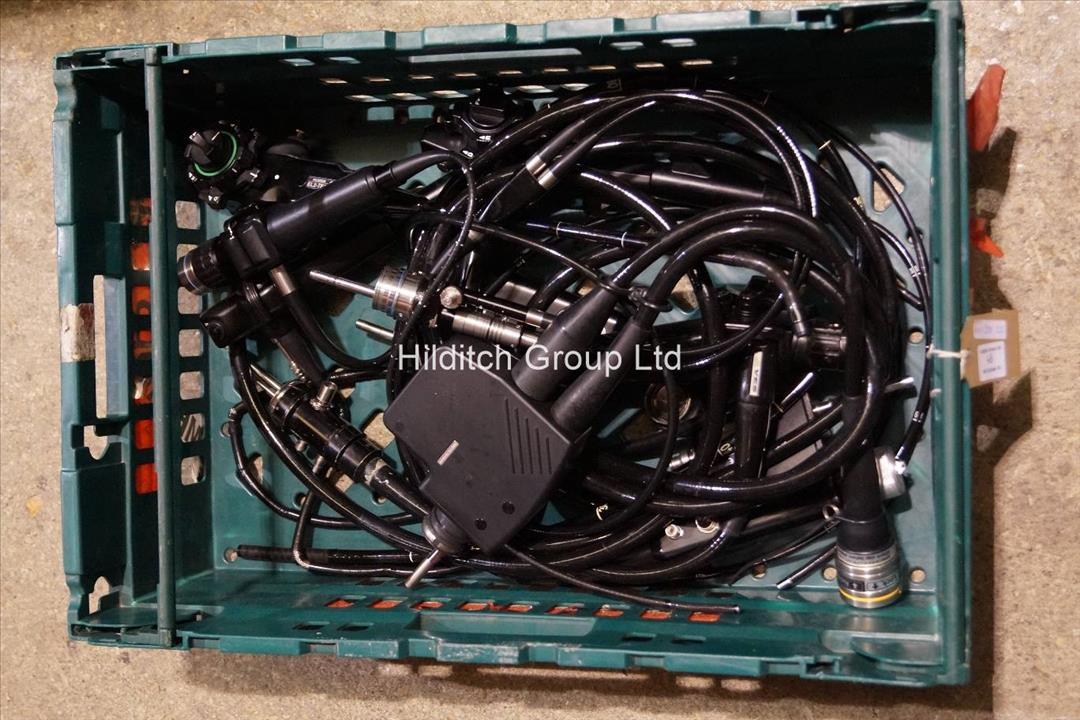 Quantity of Endoscopes for Spares including Pentax VB-1830, VES 9.8, Pentax EG-1840, Fujinon EL2-TF410 and Fujinon BRO-435