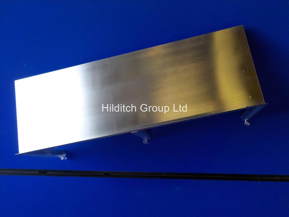 Stainless Steel Wall Shelf - 900mm x 300mm