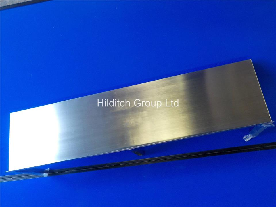 Stainless Steel Wall Shelf - 1200mm x 300mm