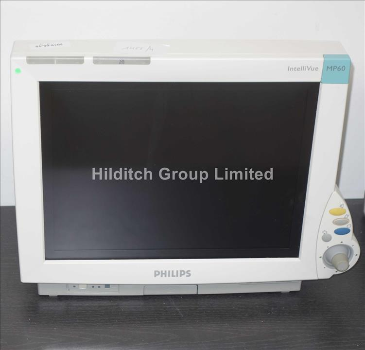 2 x Philips IntelliVue MP60 Patient Monitors